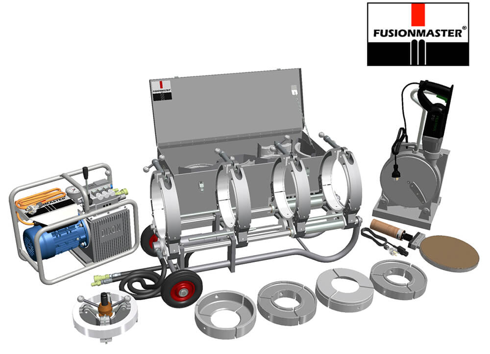 EHF225 HDPE Poly Pipe Welding Machine - Dixon Industries