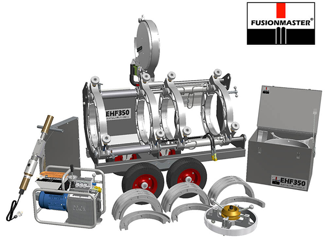 EHF350 PE Poly Pipe Welding Machine - Dixon Industries