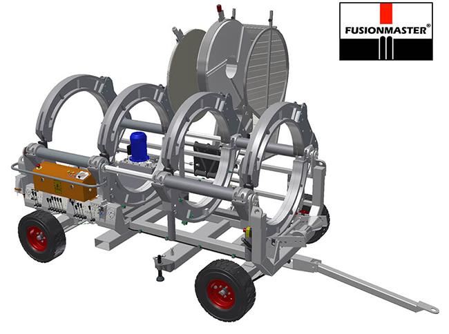 HF1000 PE Poly Pipe Welding Machine - Dixon Industries