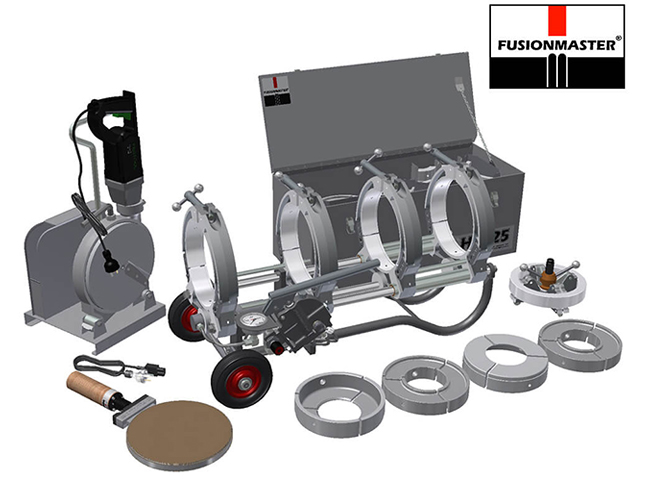 HF225 PE Poly Pipe Welding Machine - Dixon Industries
