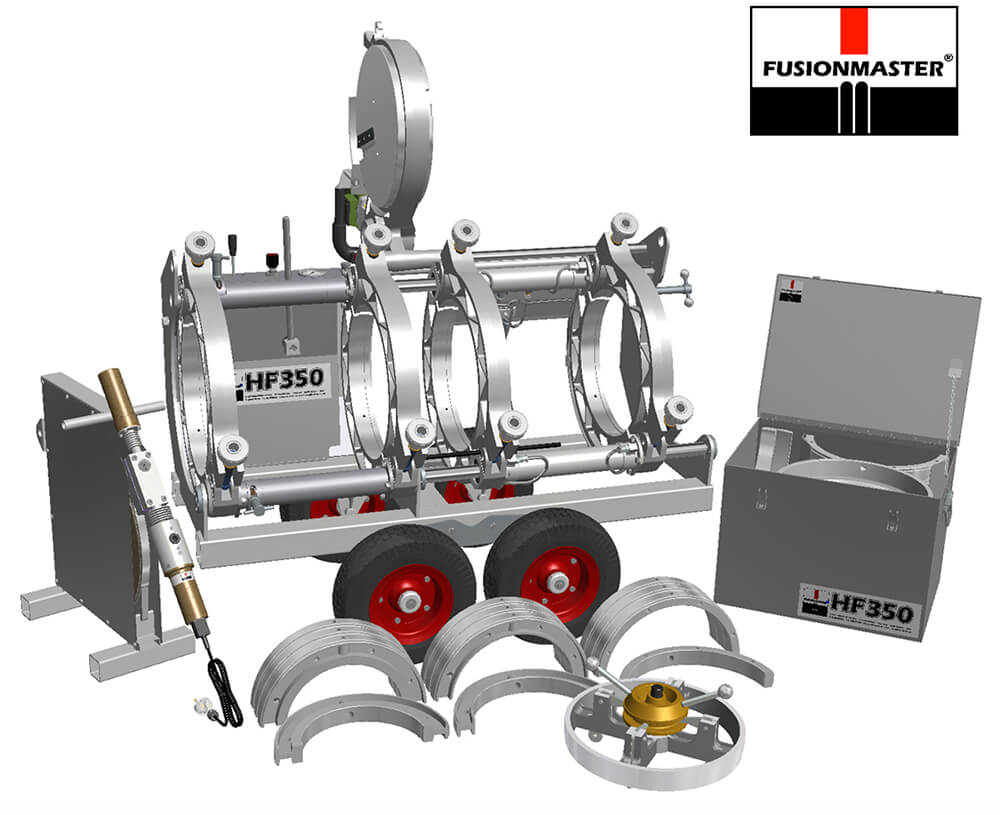 HF350 HDPE Poly Pipe Welding Machine - Dixon Industries