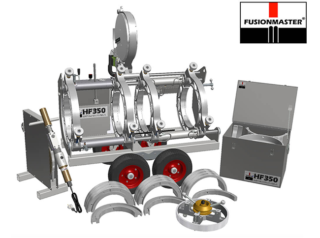 HF350 PE Poly Pipe Welding Machine - Dixon Industries