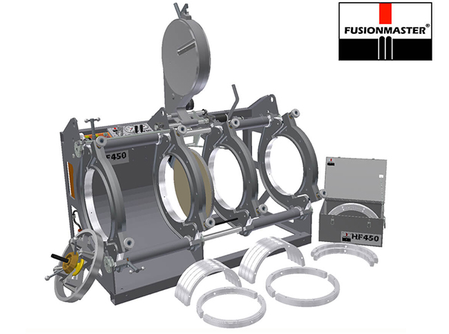 HF450 PE Poly Pipe Welding Machine - Dixon Industries