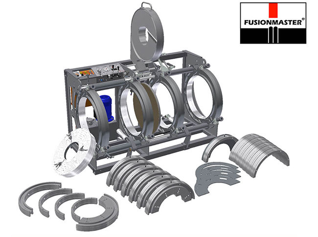 HF630 PE Poly Pipe Welding Machine - Dixon Industries