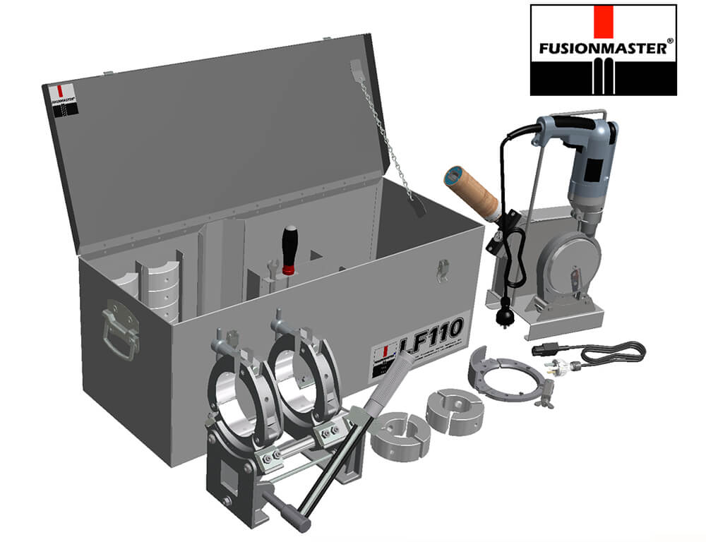 LF110 HDPE Poly Pipe Welding Machine - Dixon Industries