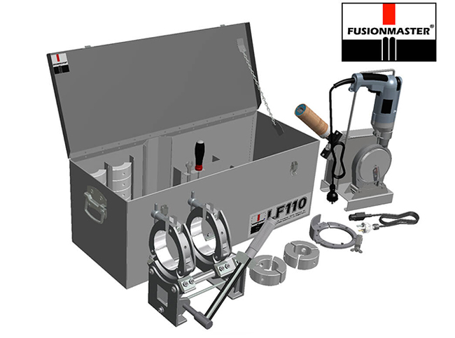 LF110 PE Poly Pipe Welding Machine - Dixon Industries