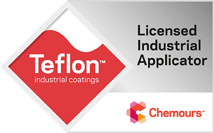 Teflon Coating - Chemours Licensed Industrial Applicator