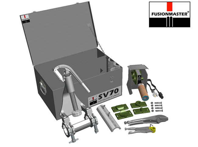 SV70 Gas Pipe Saddle Fusion Kit - Dixon Industries